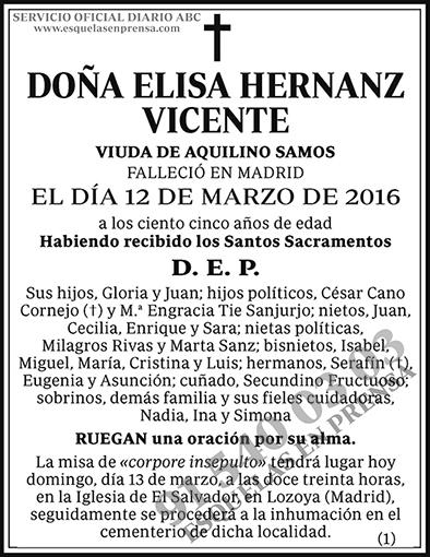 Elisa Hernanz Vicente